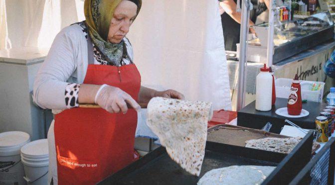 Turkish gozleme