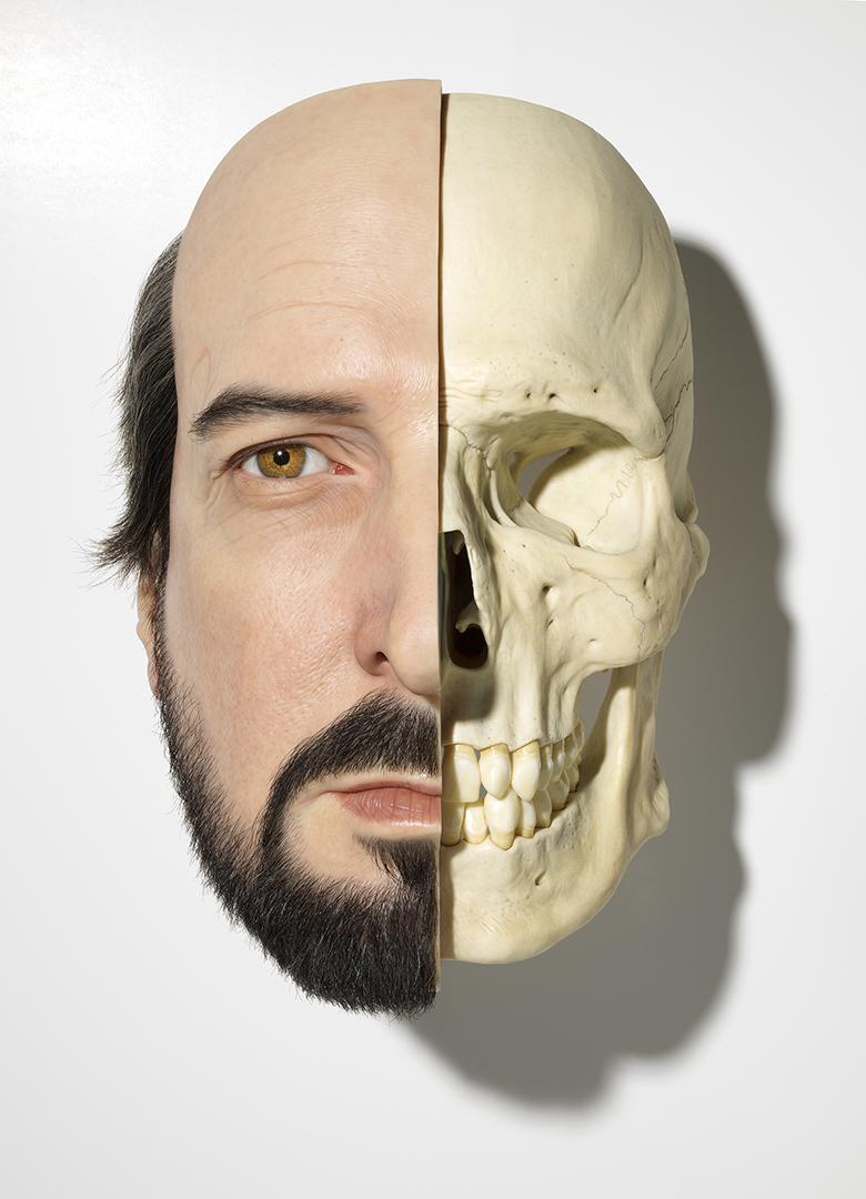 Sam Jinks, Divide (self portrait)