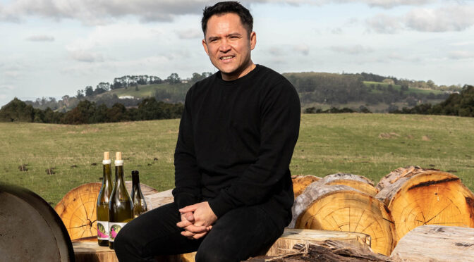 Winemaker Jayden Ong Yarra Valley
