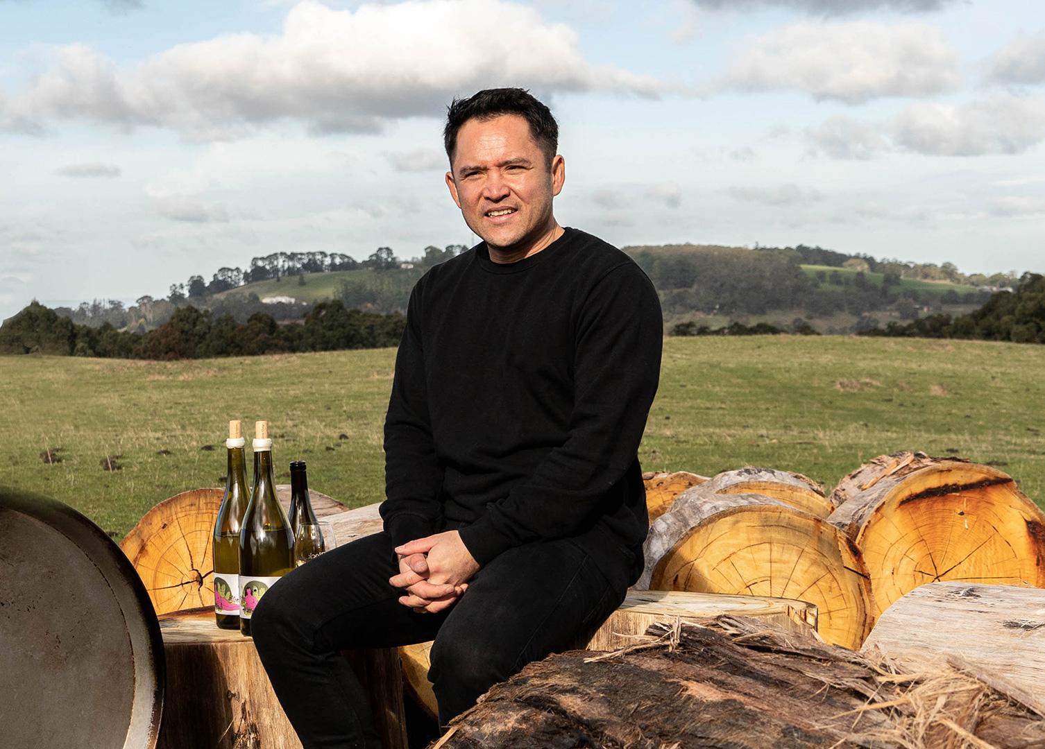 Winemaker Jayden Ong Yarra Valley