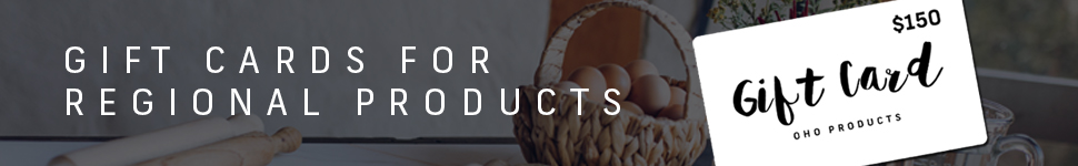 Gift Cards For Regional Products