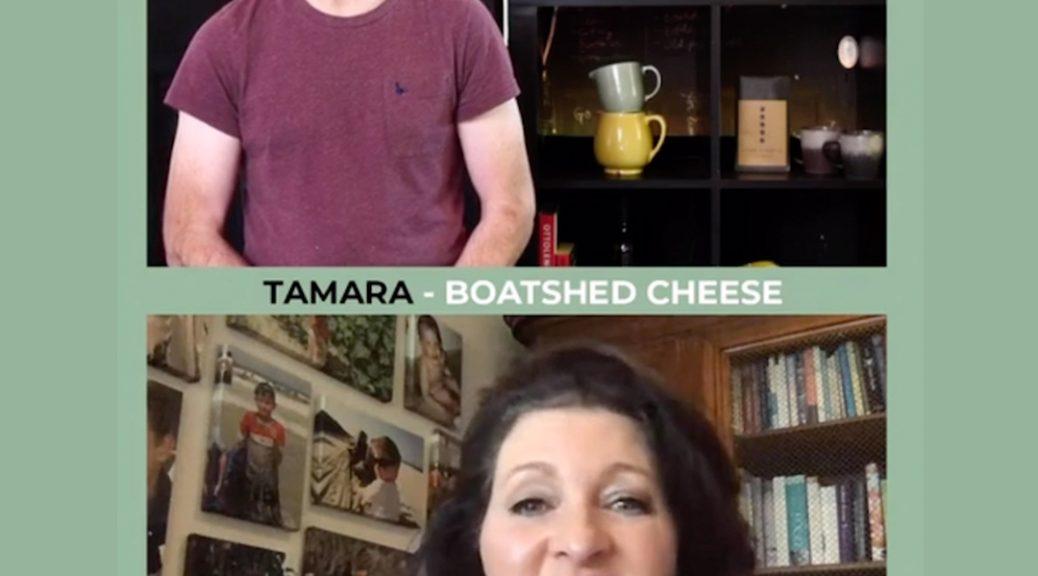 Tamara Newing Boatshed Cheese and Tamara's Kitchen