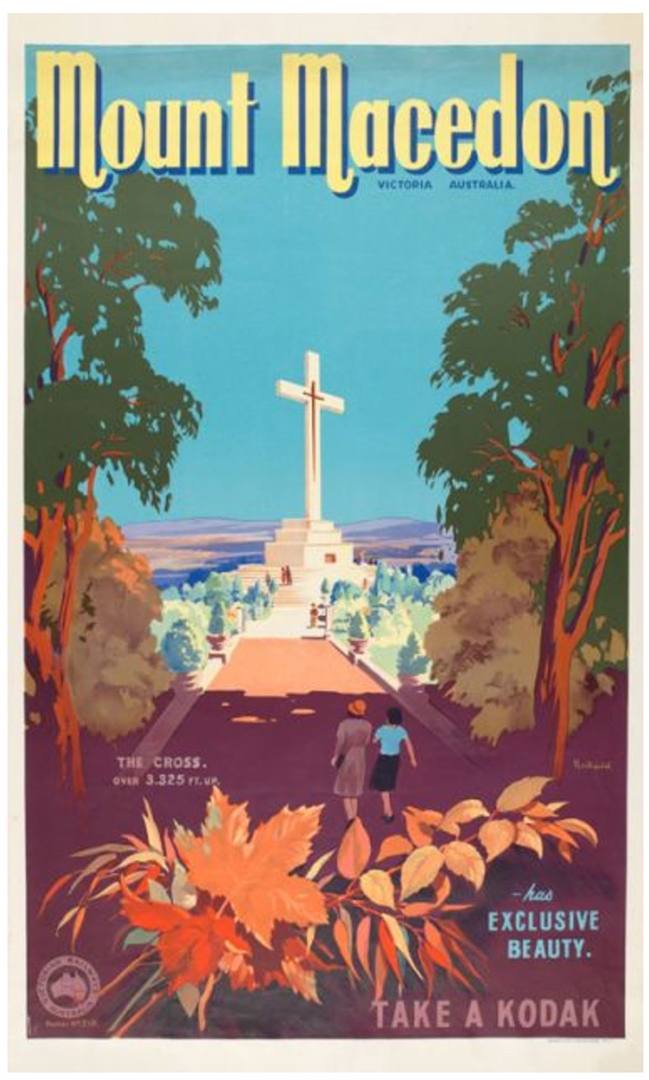 Mount Macedon James Northfield Vintage Posters