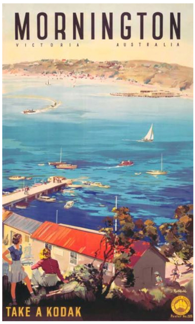 Mornington Vintage Poster