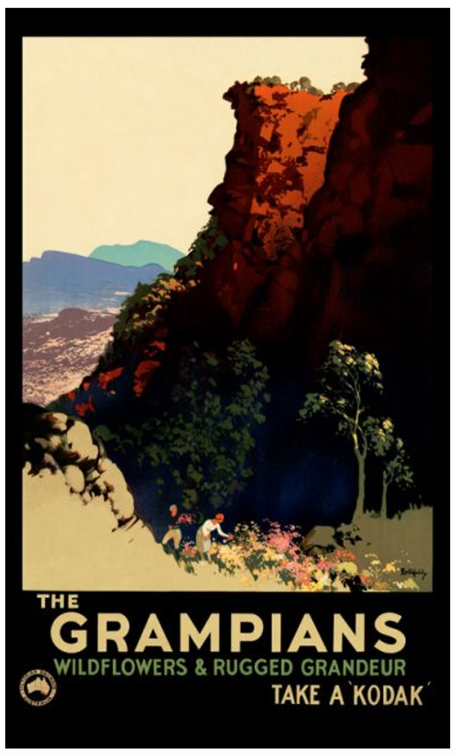 Grampians Vintage Posters James Northfield