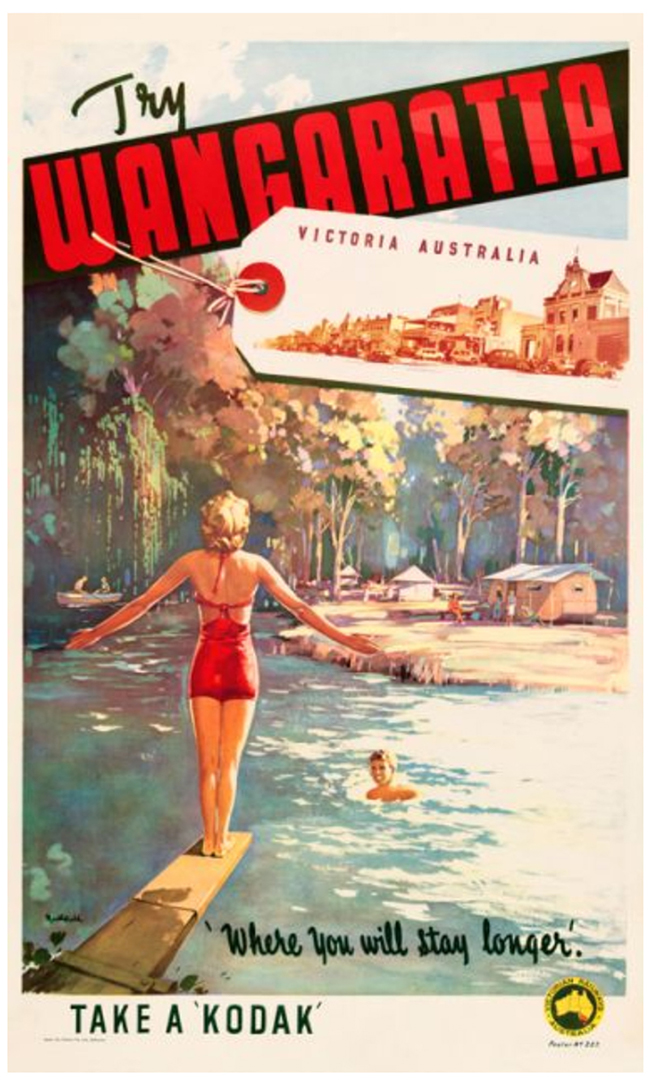Wangaratta James Northfield Vintage Posters