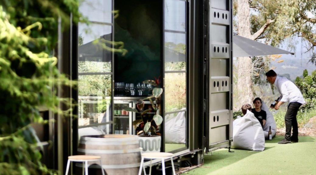 Seville Estate Container Bar Yarra Valley