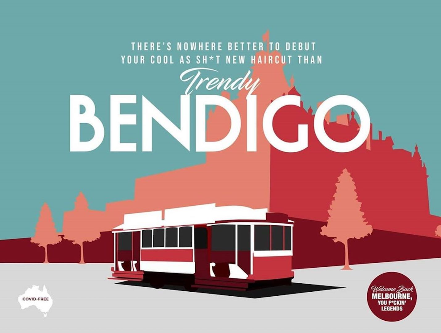 Postcards Bendigo