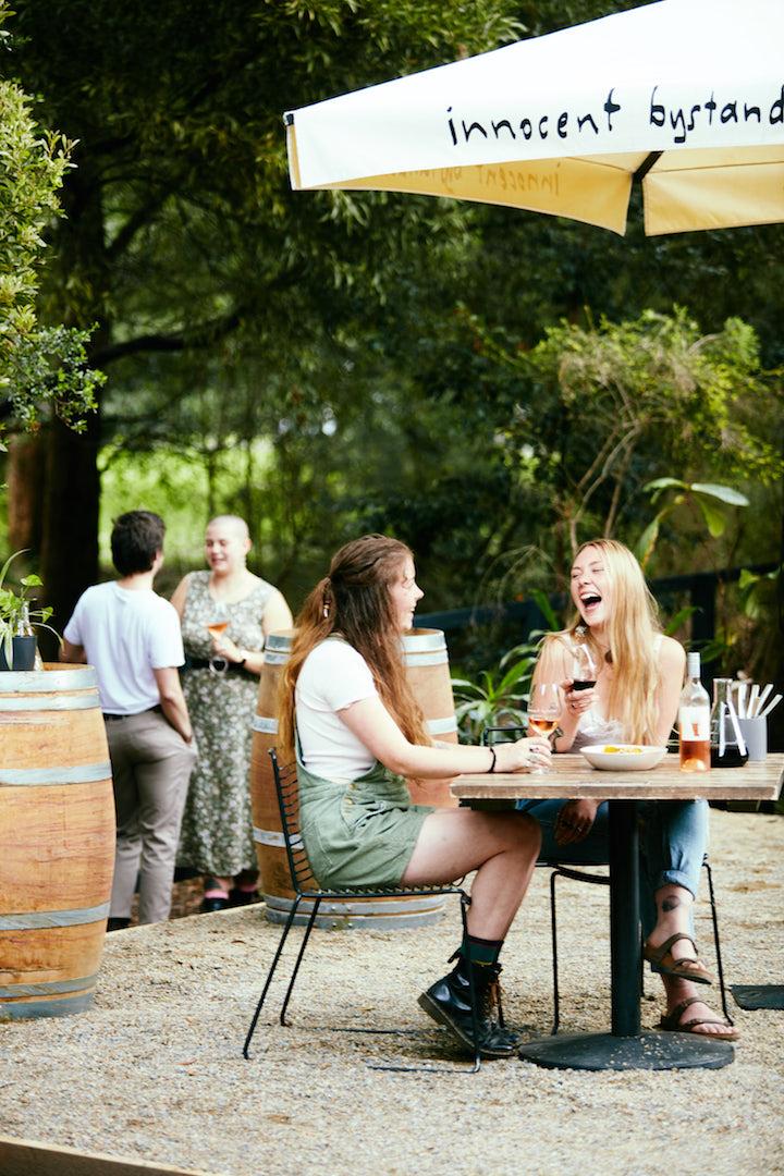 Wine Garden Innocent Bystander Healesville Yarra Valley