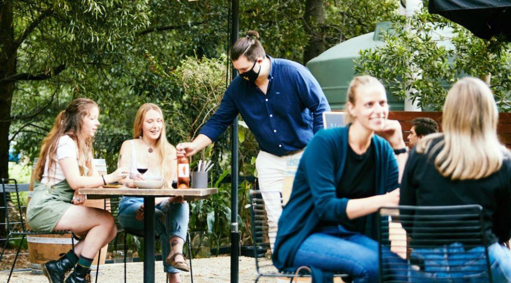 Wine & Beer Garden Innocent Bystander Healesville Yarra Valley Outside Dining