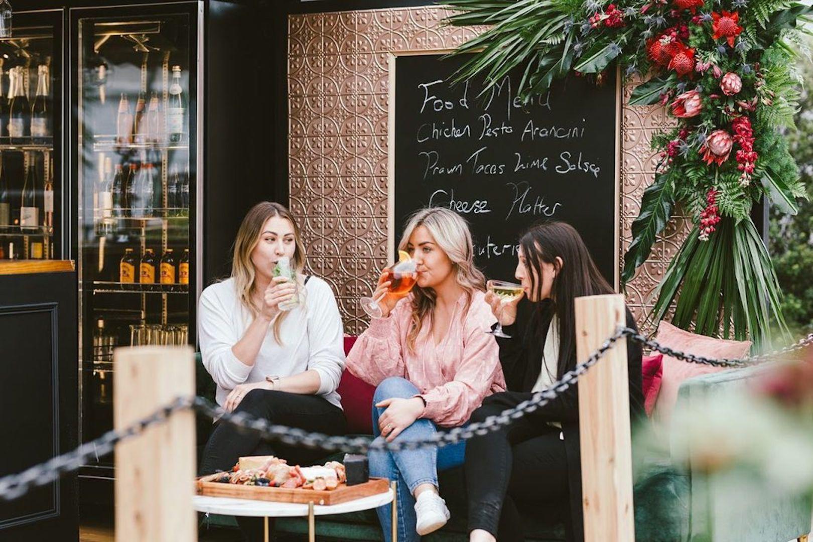 Elderbar & Eats Container Bar Teesdale