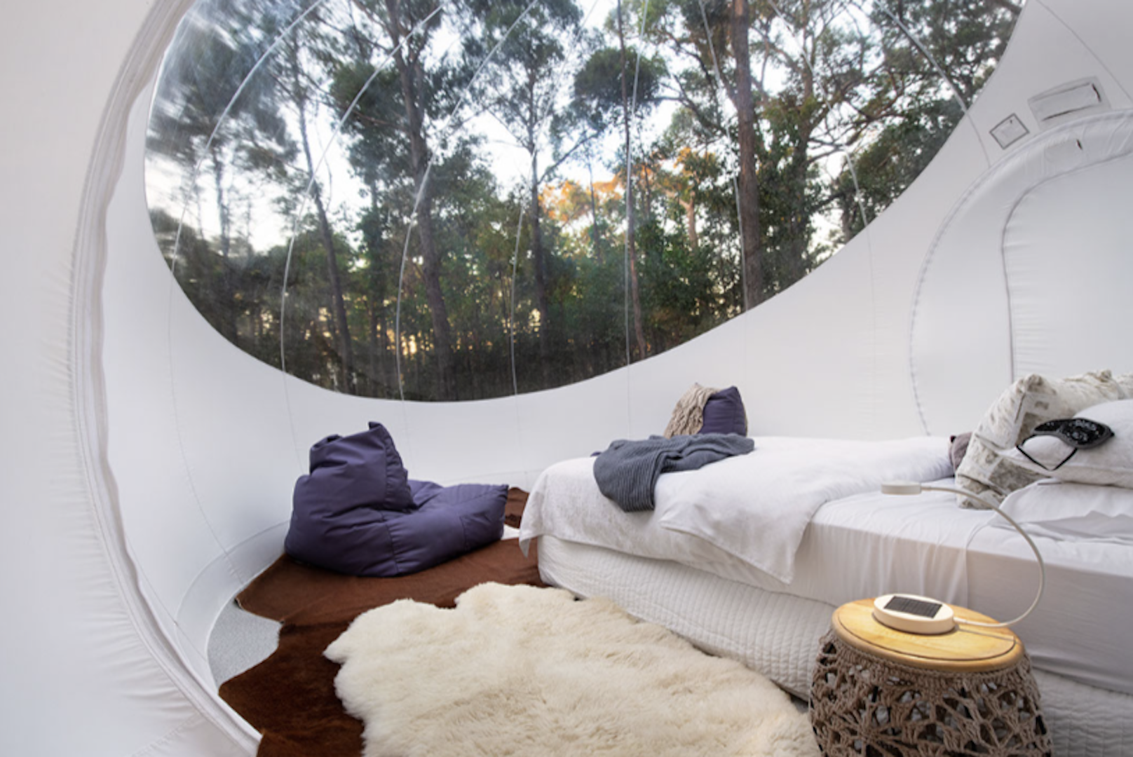 Skyview Bubble Tent Daylesford