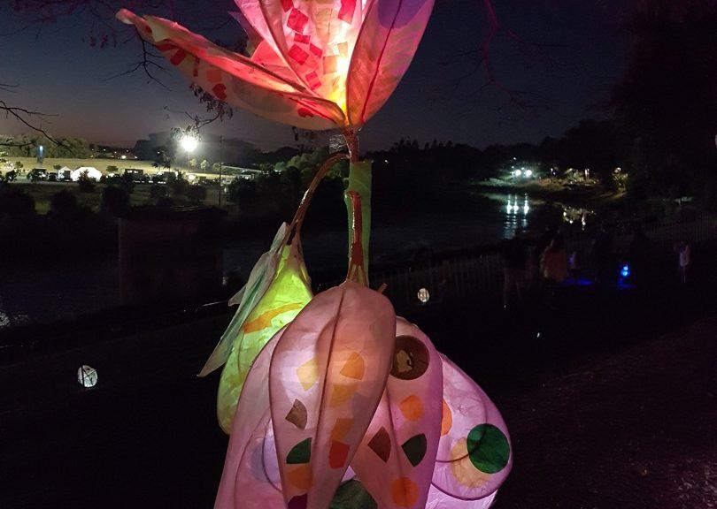 Lights festival lakes entrance victoria